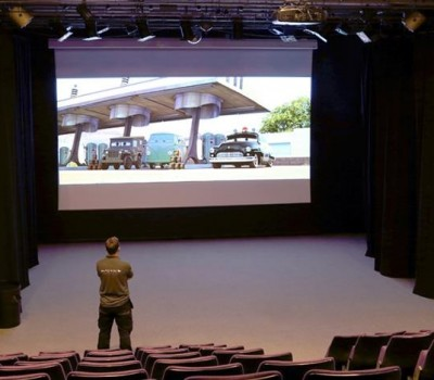 HD Projector & Screen Installation at Chilwell Arts Theatre