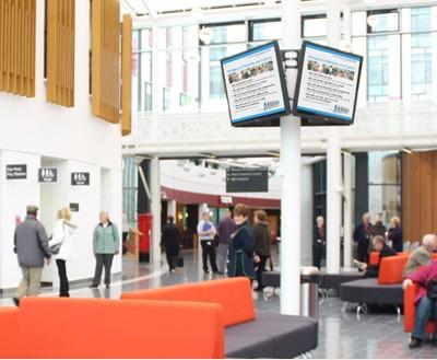 Digital Signage Installation at Kings Mill Hospital, Nottingham